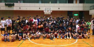 高槻のバスケットボール教室TCBA練習風景