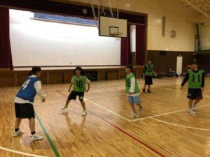 高槻のバスケットボールスクールTCBA練習風景